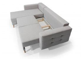 rohová sedací souprava ASGARD - Soft eko 33 EL-TAP