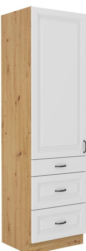 kuchyňská linka STILO - 60 potravinová skříň (60 DKS-210 3S 1F) LEMPERT