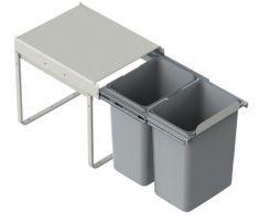 Odpadkový koš JC602 2 x 20l