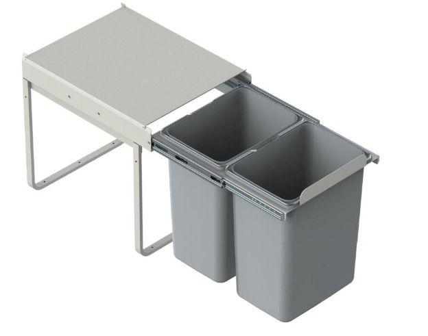 Odpadkový koš JC602 2 x 20l LEMPERT