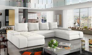 sedací souprava MARINO - Soft eko 17 white