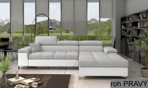rohová sedací souprava RICARDO - Sawana 21/ Soft eko 17