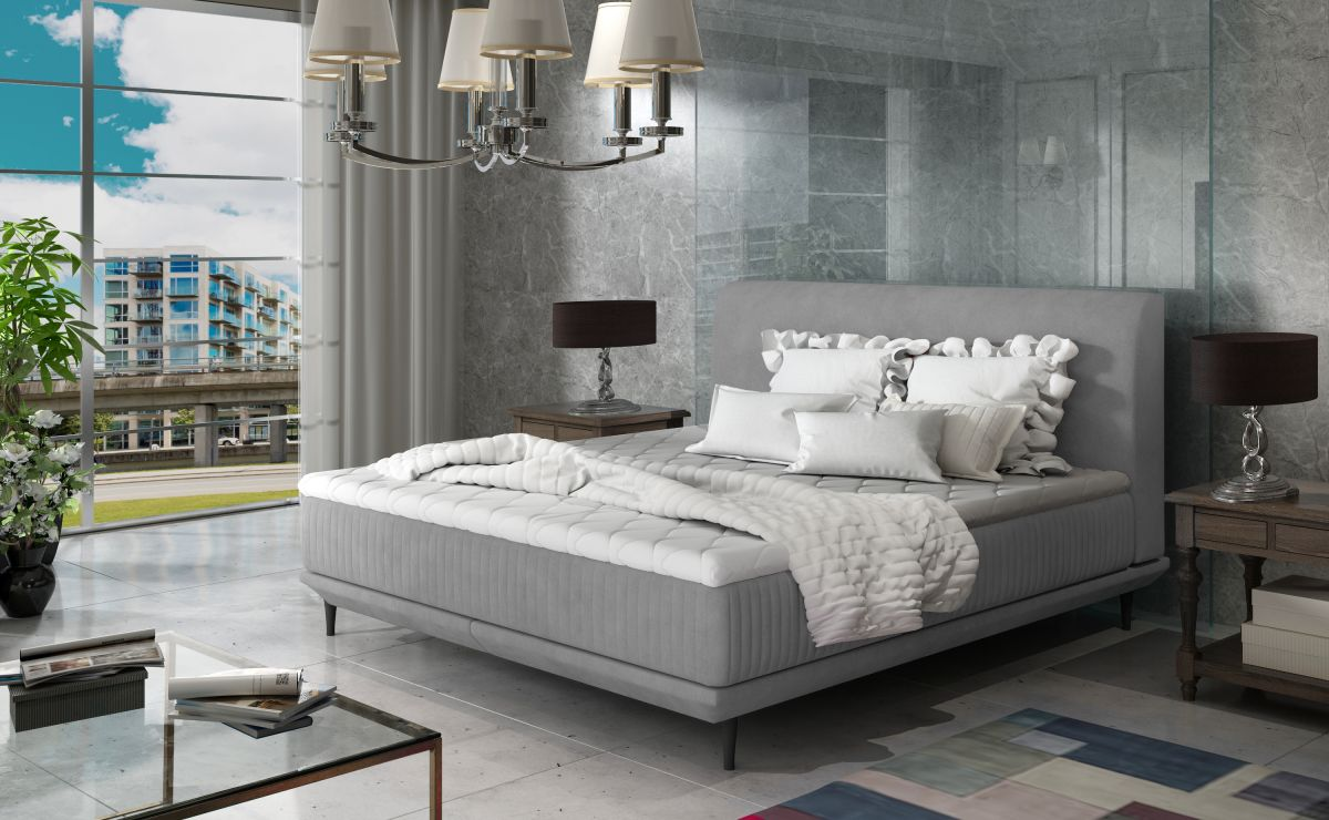 čalouněná postel ASTERIA - Jasmine 90 / 184x220cm EL-TAP