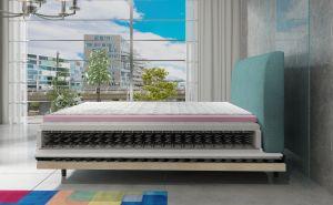čalouněná postel ASTERIA - Monolith 29 / 140x200cm EL-TAP