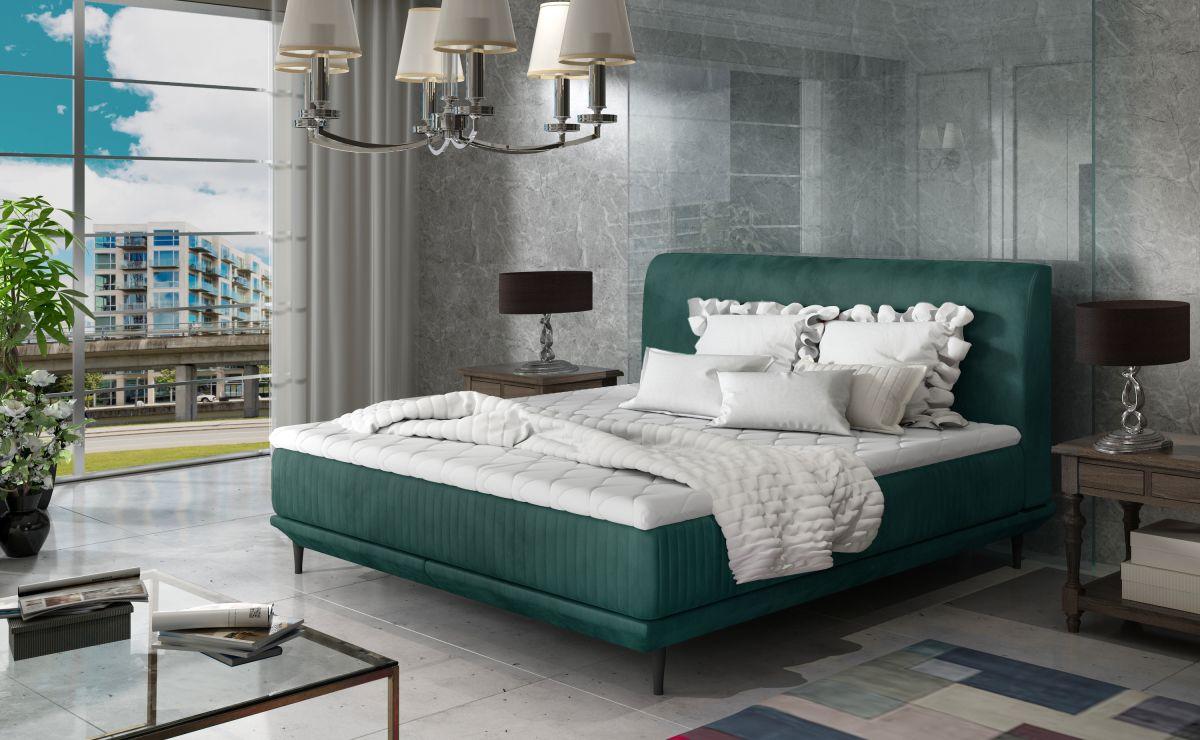 čalouněná postel ASTERIA - Monolith 37 / 160x200cm EL-TAP