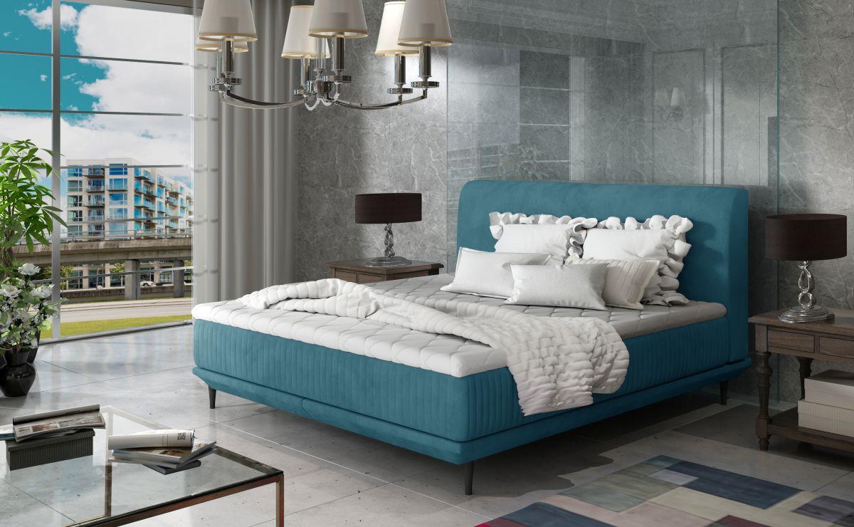 čalouněná postel ASTERIA - Jasmine 85 / 144x220cm EL-TAP
