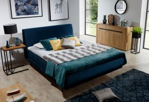 čalouněná postel ASTERIA - Monolith 77  / 164x220cm