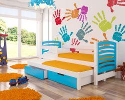 Dětská postel AVILA - modrá ADRK