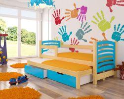 Dětská postel AVILA - modrá