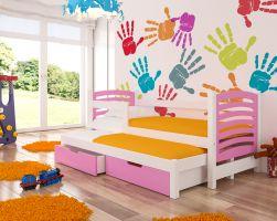 Dětská postel AVILA - růžová ADRK