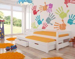 Dětská postel FRAGA - bílá