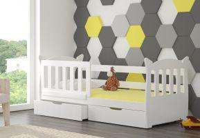 Dětská postel LENA - bílá