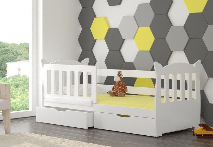 Dětská postel LENA - bílá ADRK