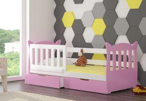 Dětská postel LENA - růžová