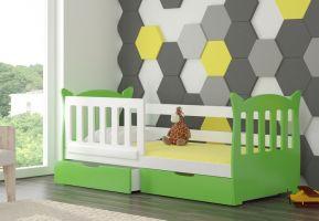 Dětská postel LENA - zelená