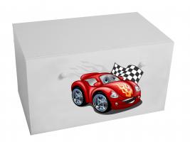 Dětský box na hračky se zásuvkou - Auto