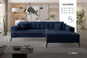 rohová sedací souprava SOLANGE - Monolith 84 EL-TAP