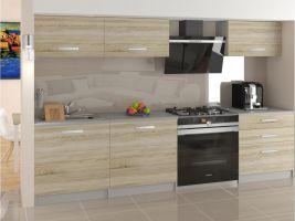 Kuchyňská linka Laurentino 180cm - Dub Sonoma