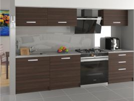 Kuchyňská linka Laurentino 180cm - Kaštan