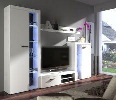 obývací stěna RUMBA - barva Bílá