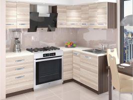 Kuchyňská linka Armin 150/150cm - Akát Treviso