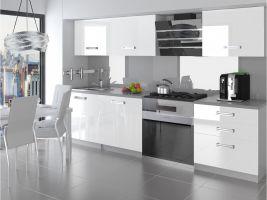 Kuchyňská linka Neptun 180cm - Bílá - LESK