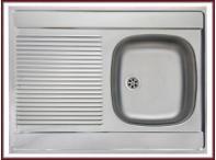 kuchyňský dřez jednokomorový s odkapávačem FRANKE - DSN 711
