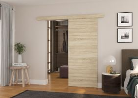 Interiérové posuvné dveře DAAN - Dub Sonoma - 80cm
