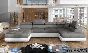 sedací souprava RODRIGO - Sawana 5/ Soft eko 17, pravý roh