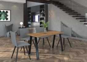 Jídelní stůl Kleo - Artisan 138x67