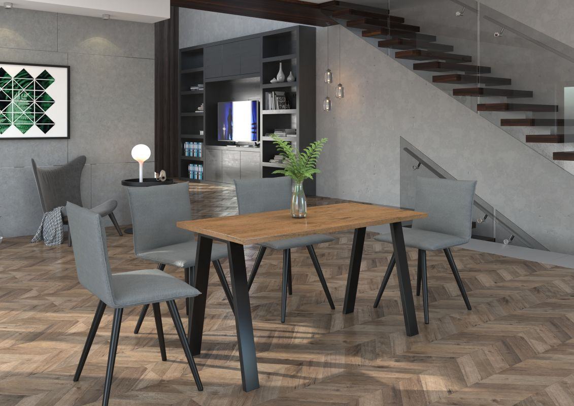 Jídelní stůl Kleo - Artisan 138x67 LEMPERT