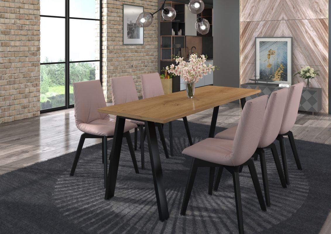 Jídelní stůl Kleo - Artisan 185x67 LEMPERT