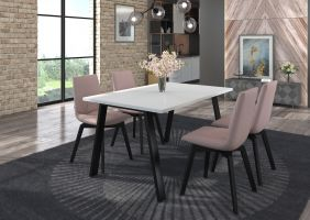 Jídelní stůl Kleo - Bílý 138x90