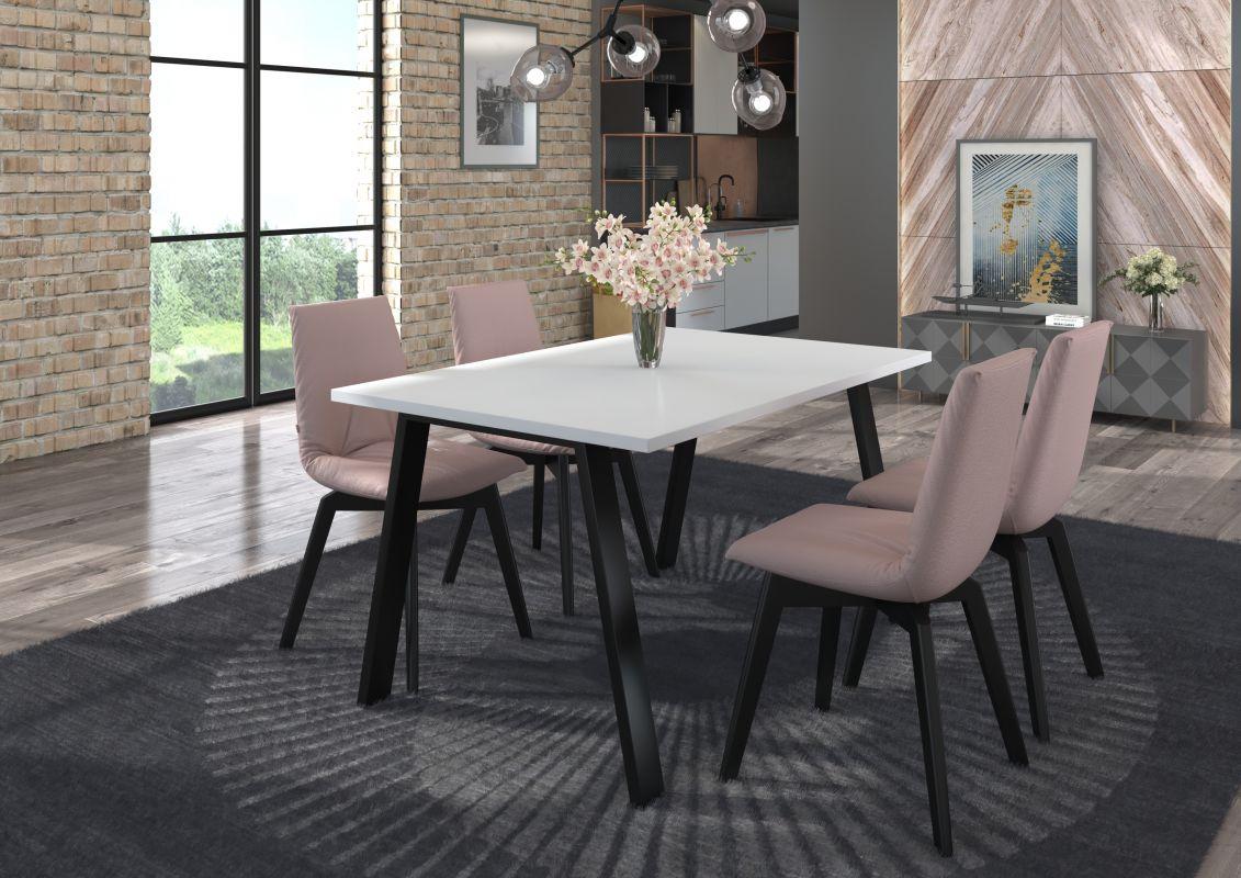 Jídelní stůl Kleo - Bílý 138x90 LEMPERT