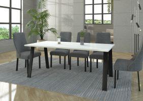 Jídelní stůl Kleo - Bílý 185x90