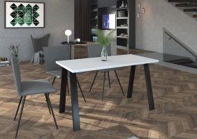 Jídelní stůl Kleo - Bílý 138x67