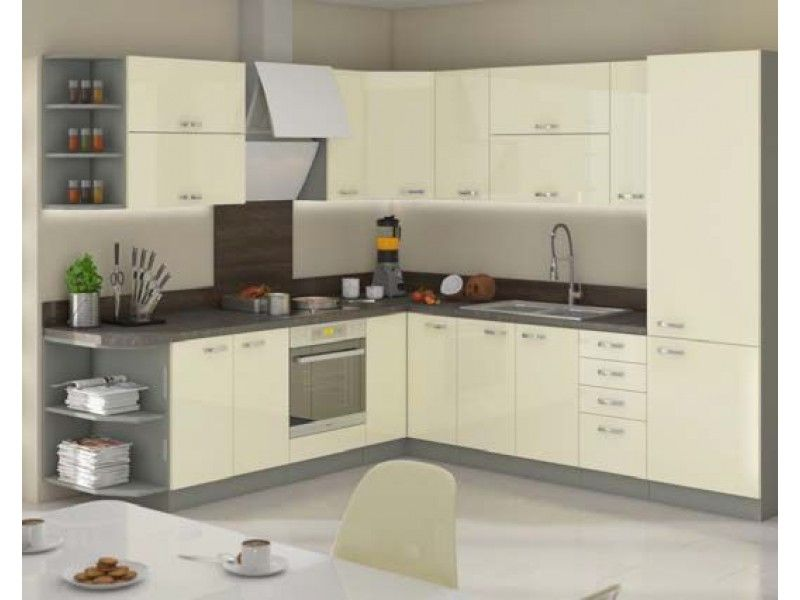 kuchyňská linka KARMEN- 260x270cm LEMPERT