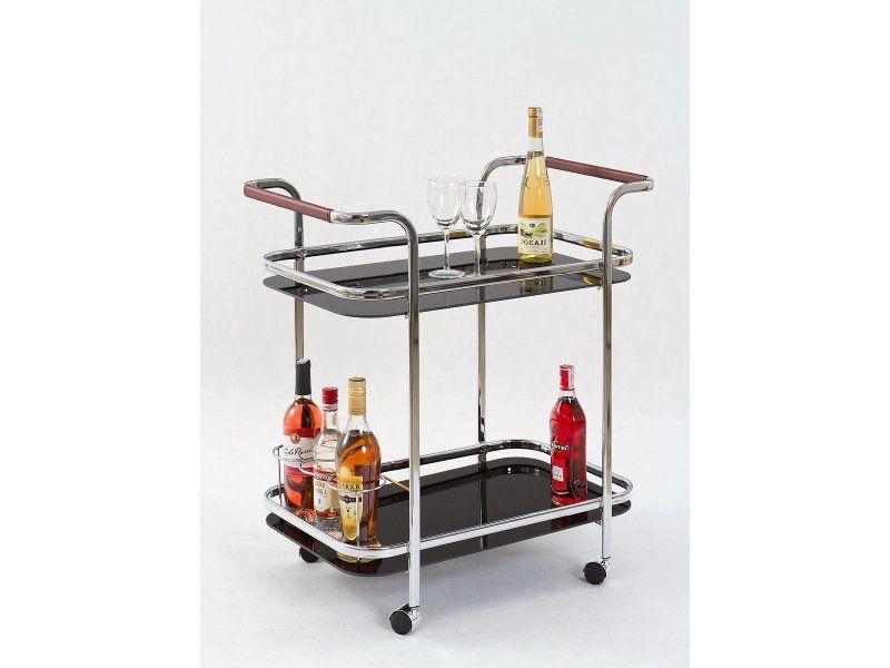 Halmar Barový stolek Bar-7 barva černá