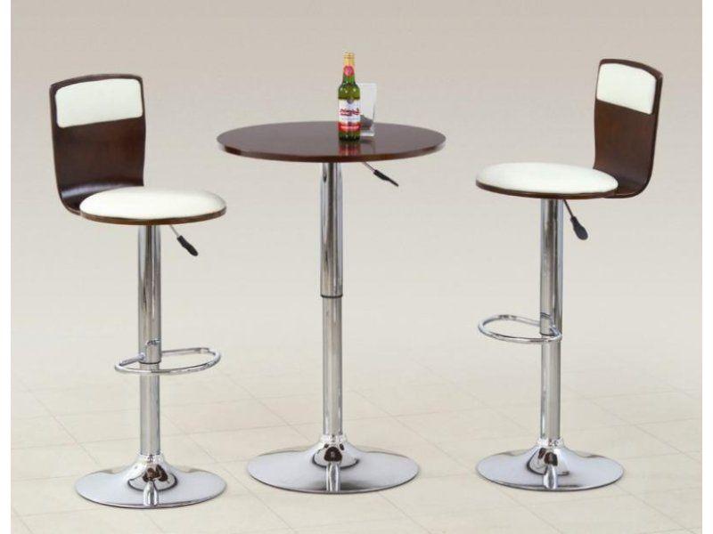 Halmar Barový stolek SB-1 barva antická třešeň