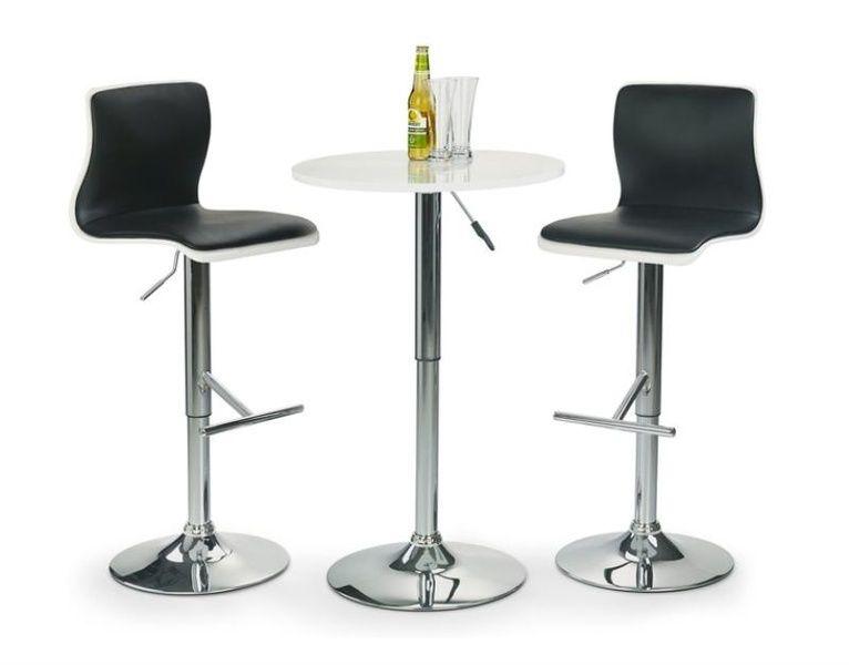 Halmar Barový stolek SB-1 barva bílá