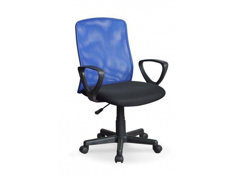 Halmar Kancelářská židle Alex barva modrá