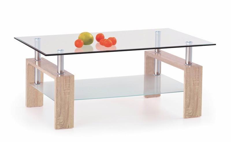 Halmar Konferenční stůl Diana barva dub sonoma