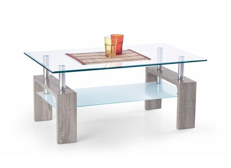 Halmar Konferenční stůl Diana Intro barva tmavý dub sonoma