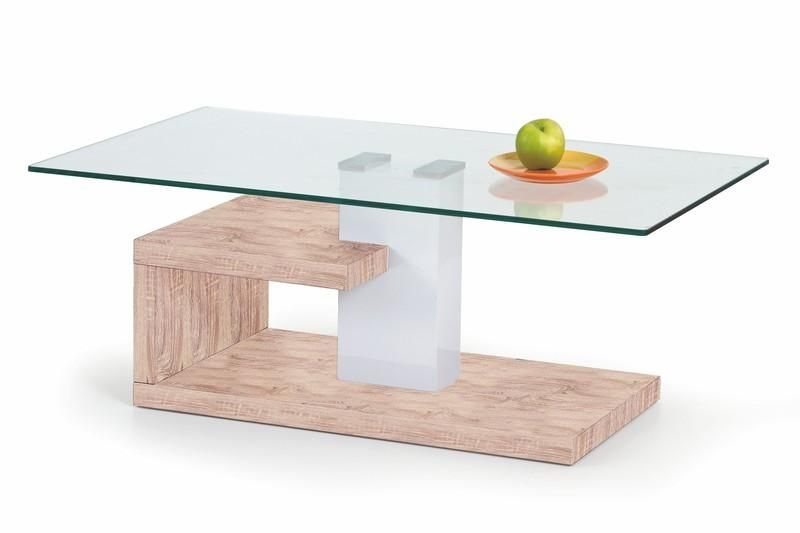 Halmar Konferenční stůl Evelin barva dub sonoma