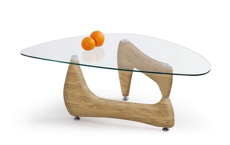Halmar Konferenční stůl Karen barva dub sonoma